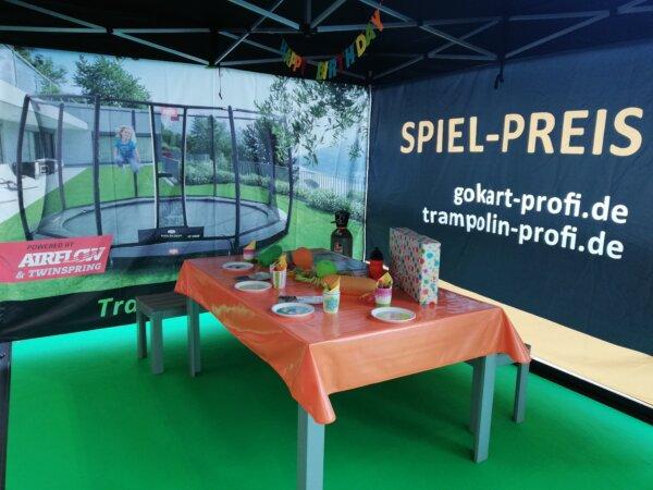 Kindergeburtstage auf der Gokartbahn - Infos am Messestand bei gokart-profi.de - Consumenta 2021