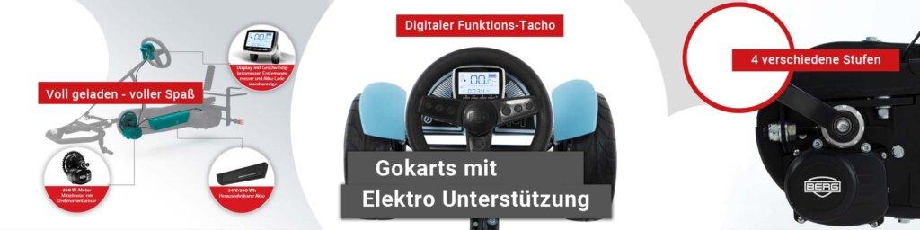 Elektro Tretautos kaufen auf gokart-profi.de