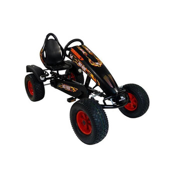 DINO CARS Gokart Edition Hot Rod BF1 schwarz 57250BF1