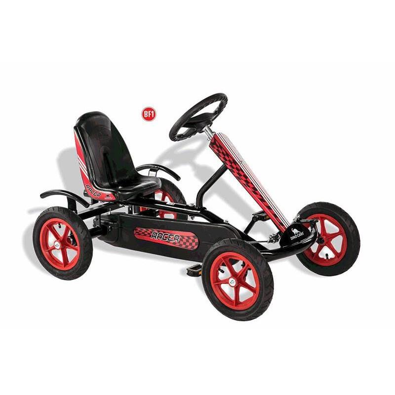 Dino Cars Kids Speedy Racer Bf1 Schwarz Rot Gokart 319 00