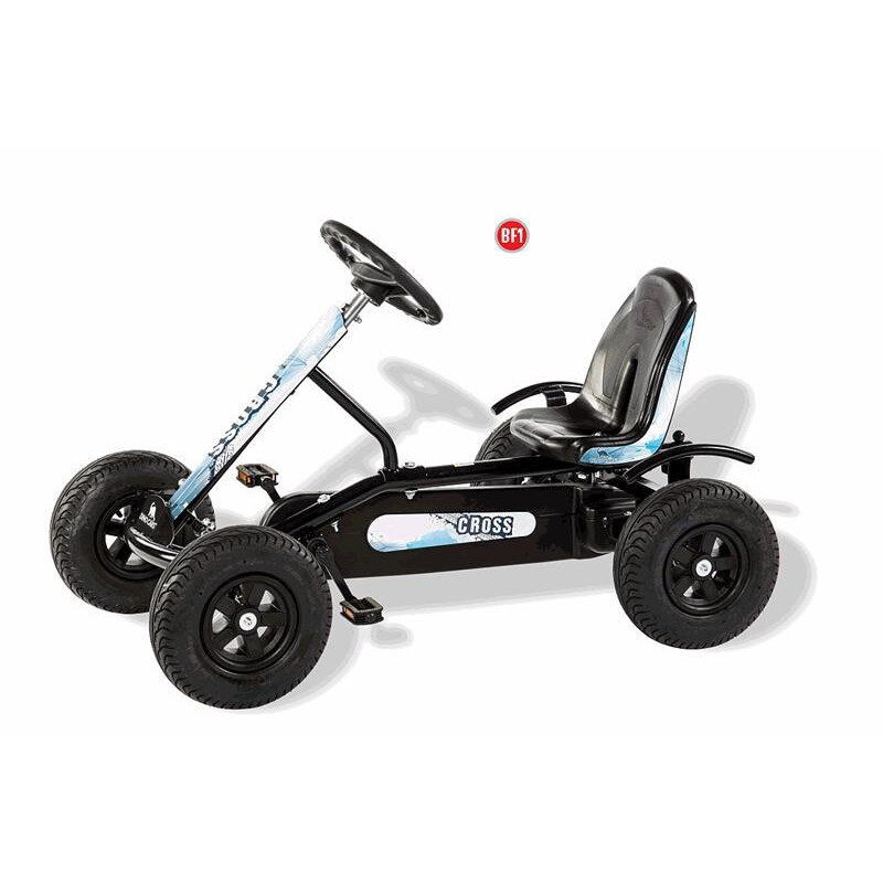 DINO CARS Kids Junior Cross BF1 schwarz Gokart 37210BF1