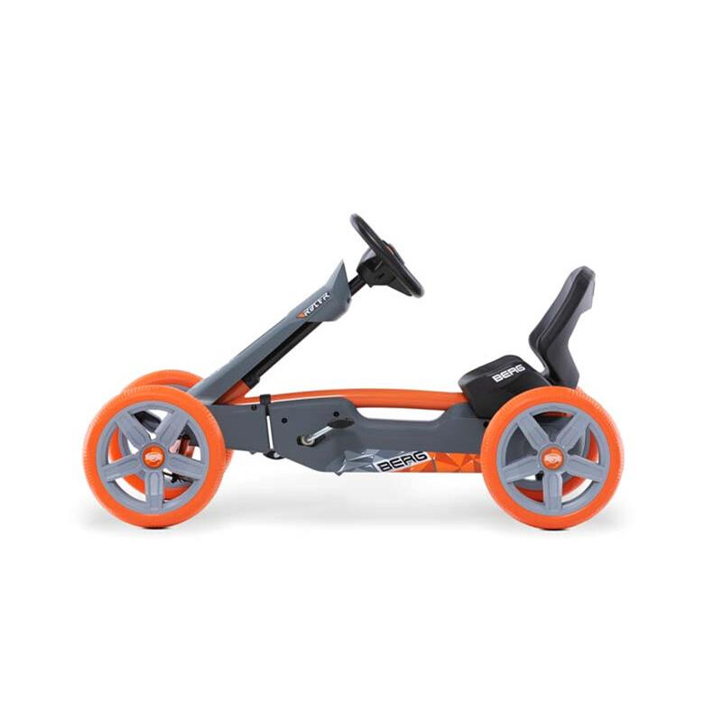 BERG Gokart Reppy Racer grau inkl. Soundbox
