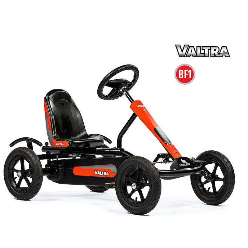 Dino Cars Kids Speedy Bf1 Valtra Schwarz Rot Gokart 339 00