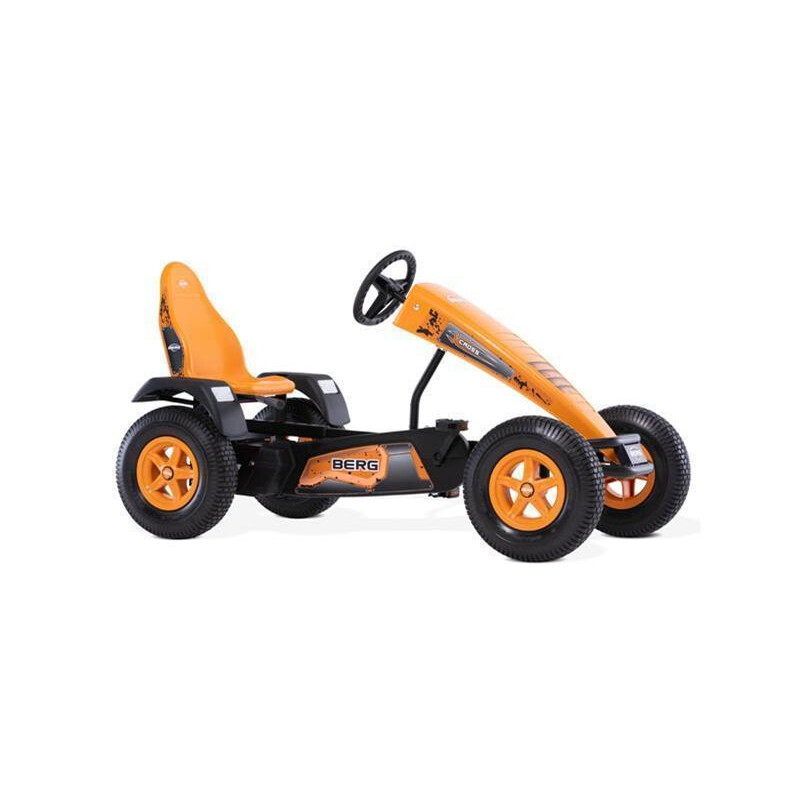 BERG Gokart X-Cross BFR orange mit Stollenreifen