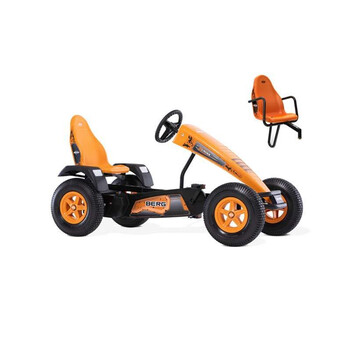 BERG Gokart X-Cross BFR-3 orange mit Stollenreifen &...