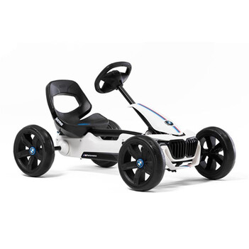 BERG Gokart Reppy BMW weiß inkl. Soundbox