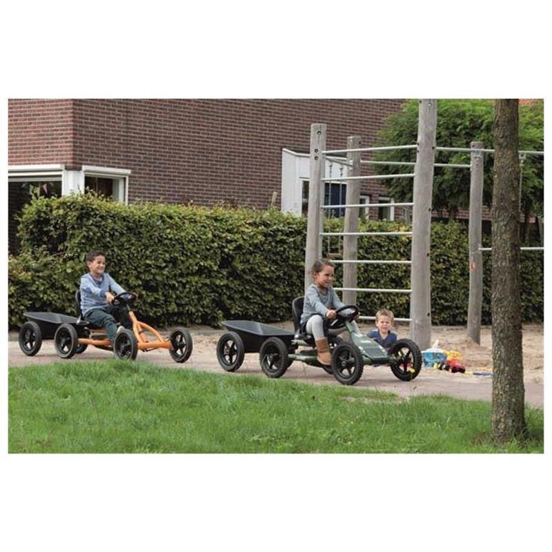 BERG Gokart Buddy Jeep Junior BF-R 24.21.34.01 inkl. Anhänger Junior