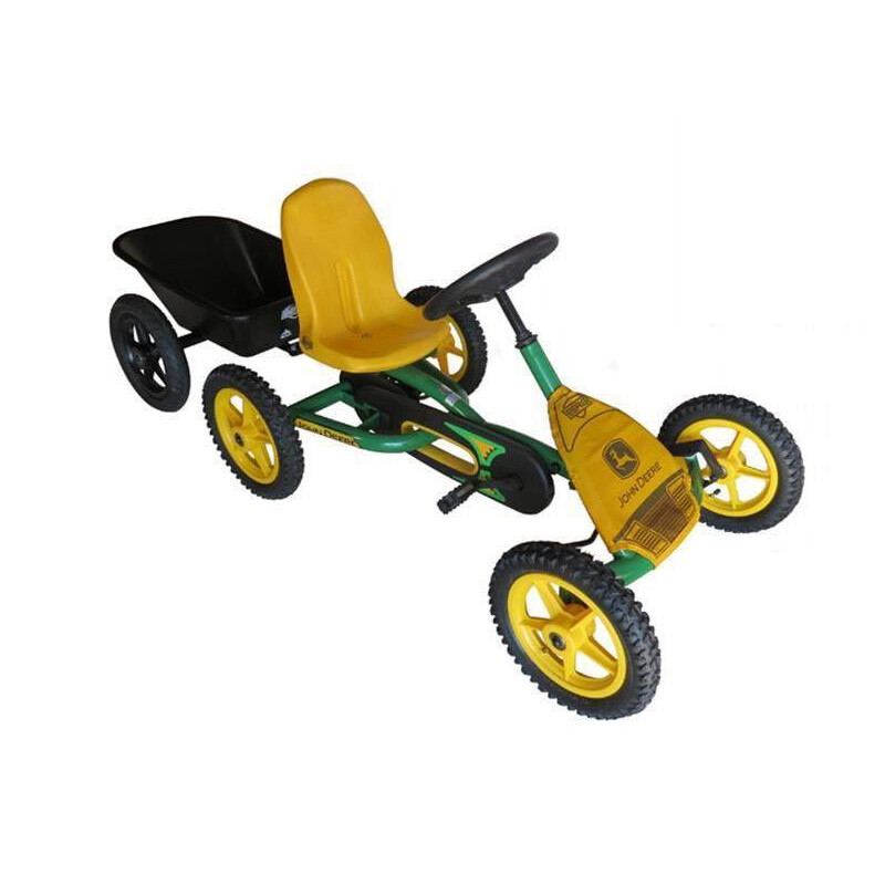 berg gokart john deere anh nger gokart 383 80. Black Bedroom Furniture Sets. Home Design Ideas