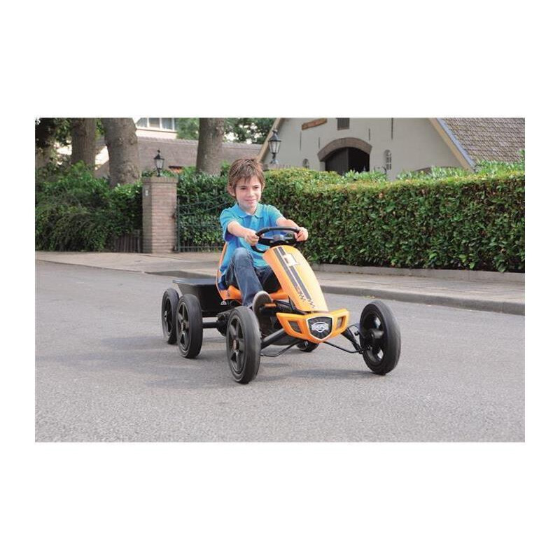 BERG Gokart Rally Orange BF-R 24.40.00.00 inkl. Anhänger Junior