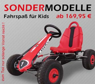 Kettcar-Sondermodelle